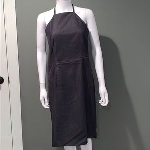 INC WOMANS Jean halter fitted dress SZ.8